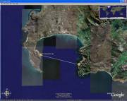 Hugh Tucker's False Bay route